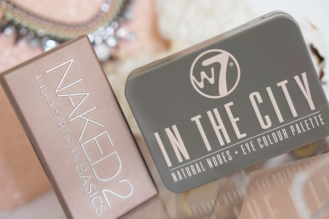 Urban Decay Naked Basics 2 dupe; W7 In the City