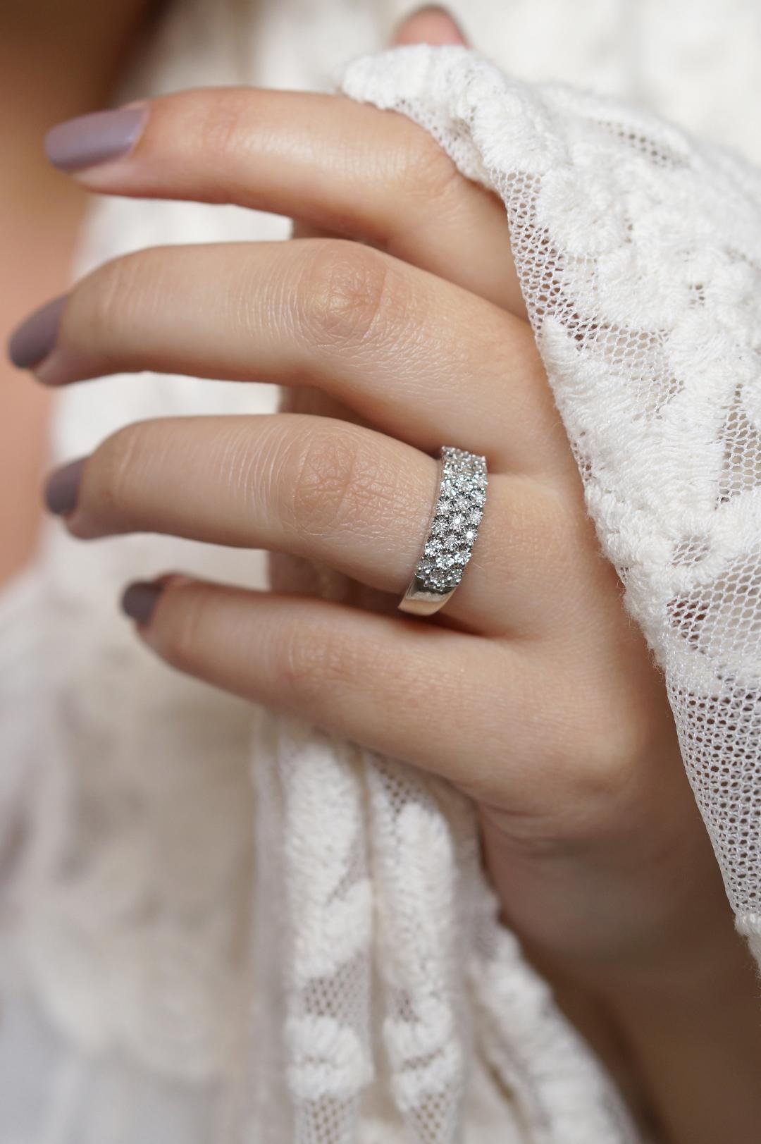 Lucardi Silver & Diamond ring + €10,00 korting | Moederdag tip