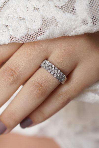 Lucardi Silver & Diamond ring + €10,00 korting   Moederdag tip