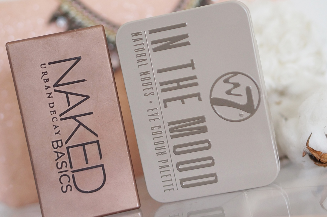 Urban Decay Naked Basics dupe; W7 In The Mood