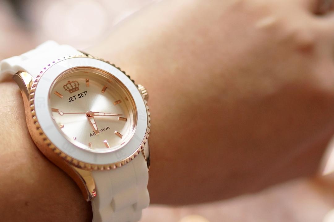 Lucardi Jetset horloge Addiction Virgin White