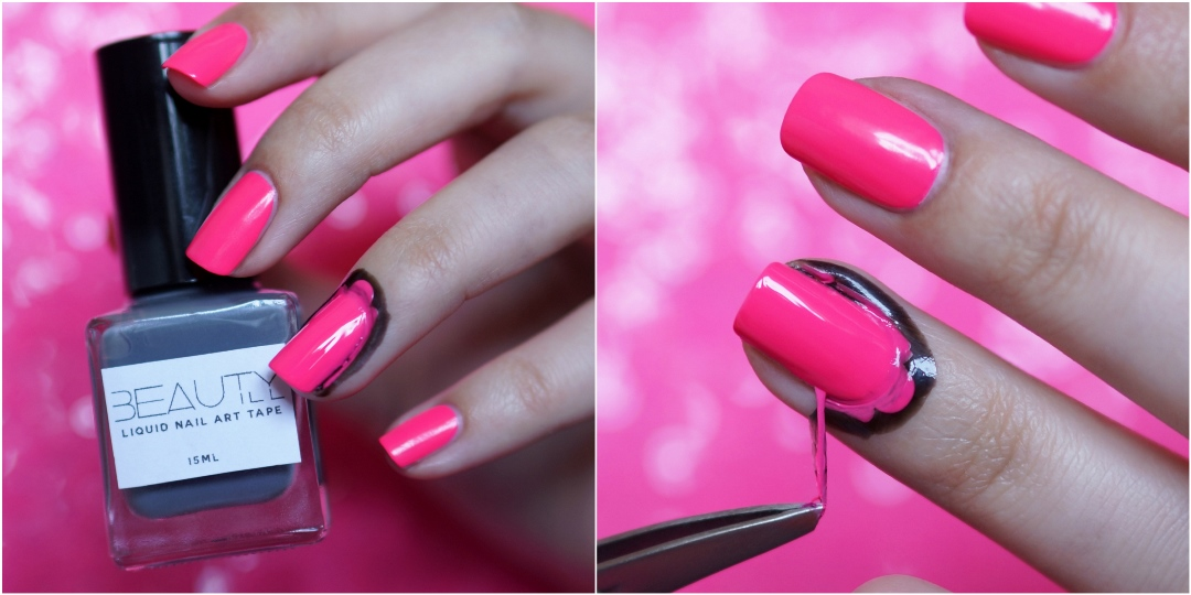 Laatste kans: WIN Liquid Nail Art Tape roze of zwart, Beautyill Shop!