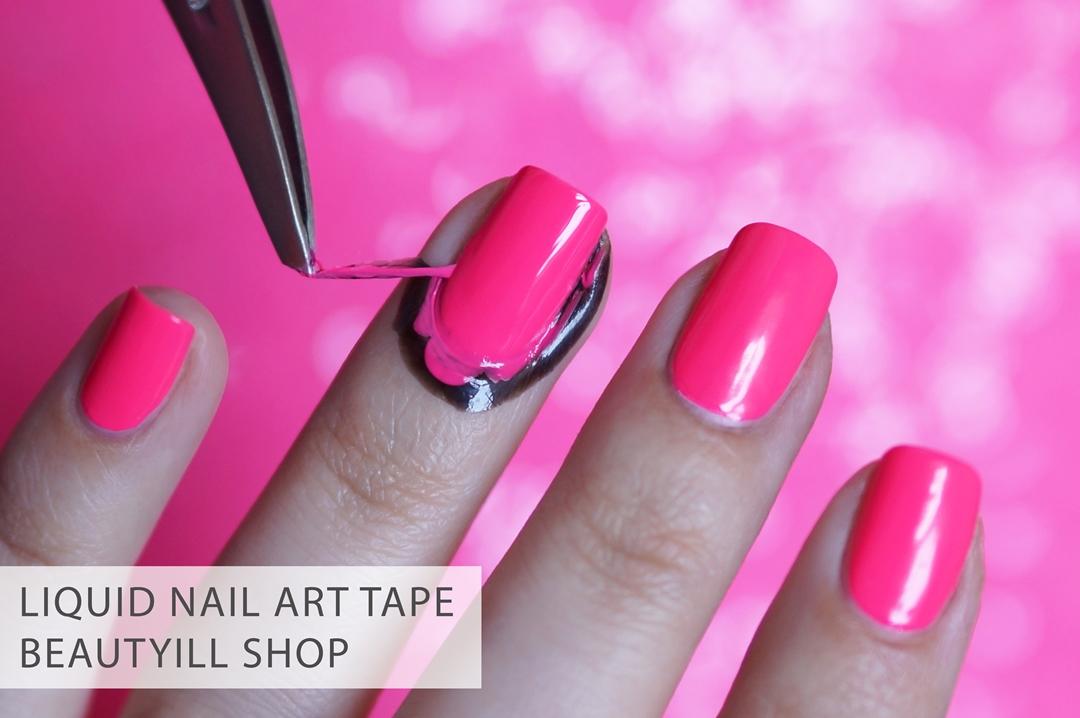 Liquid Nail Art Tape Beautyillshop