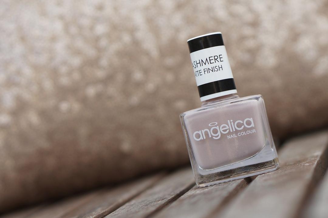 Angelica Cashmere Matte Nail Polish | Pashmina | NOTD