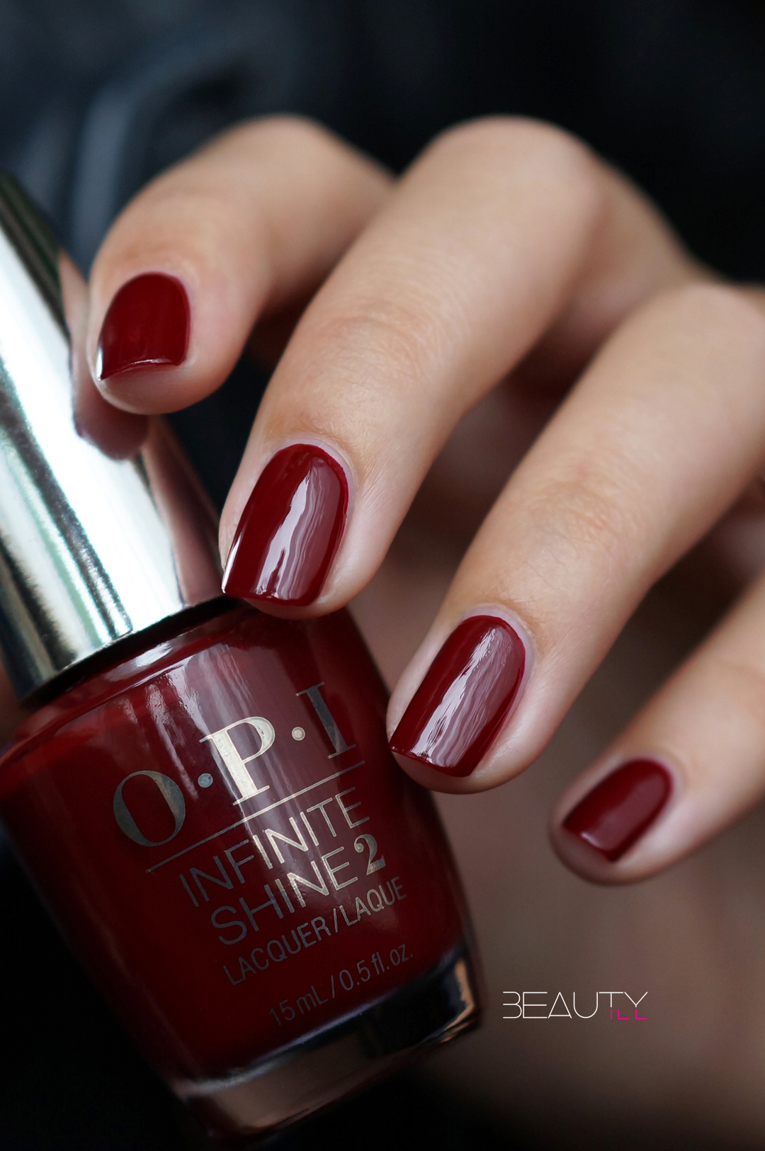 OPI Infinite Shine Raisin' the Bar