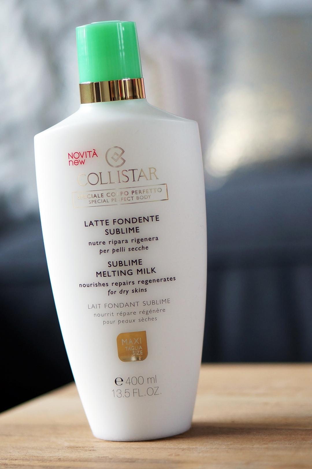 Collistar Sublime Melting Cream & Sublime Melting Milk