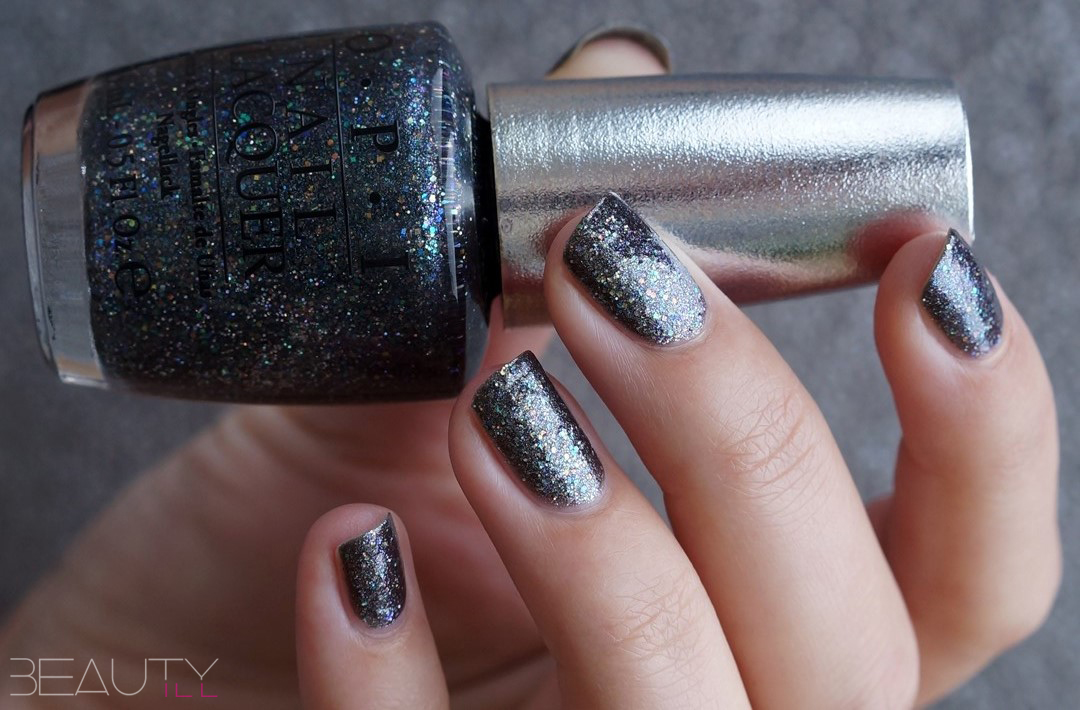 NOTD OPI Designer Series, Polished Quartz, Titanium