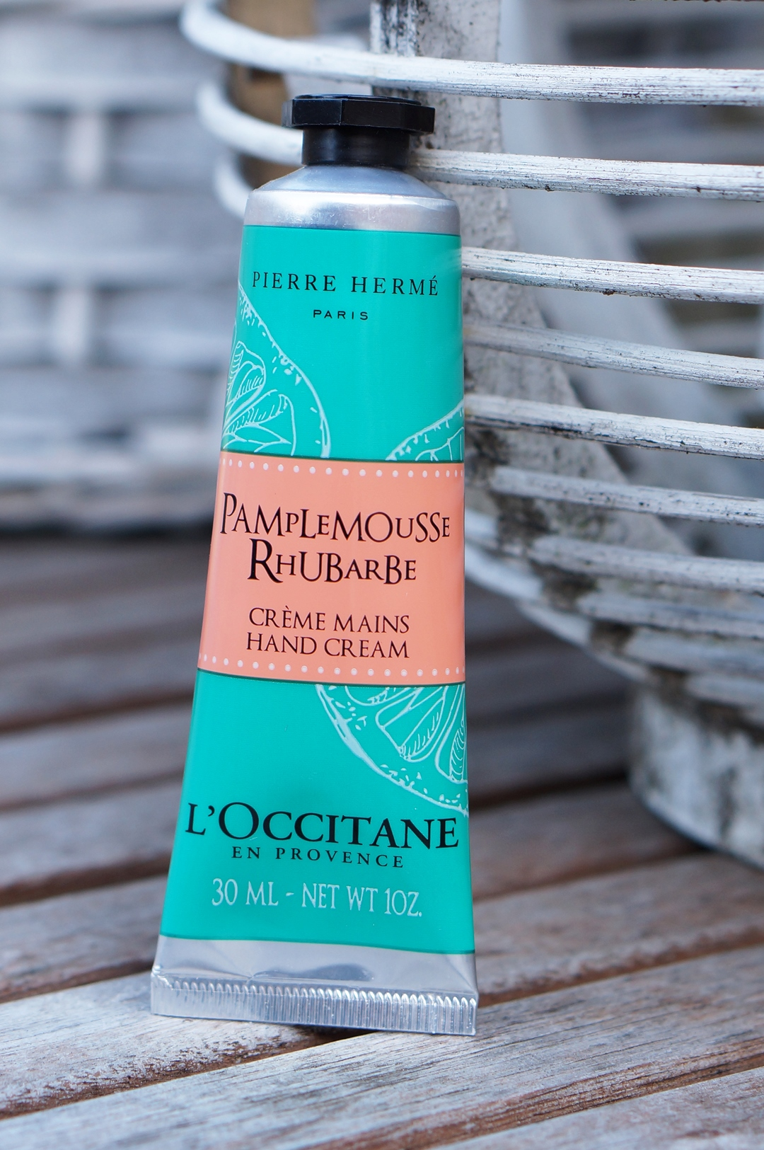 L'Occitane Pamplemousse Rhubarbe body lotion & hand cream