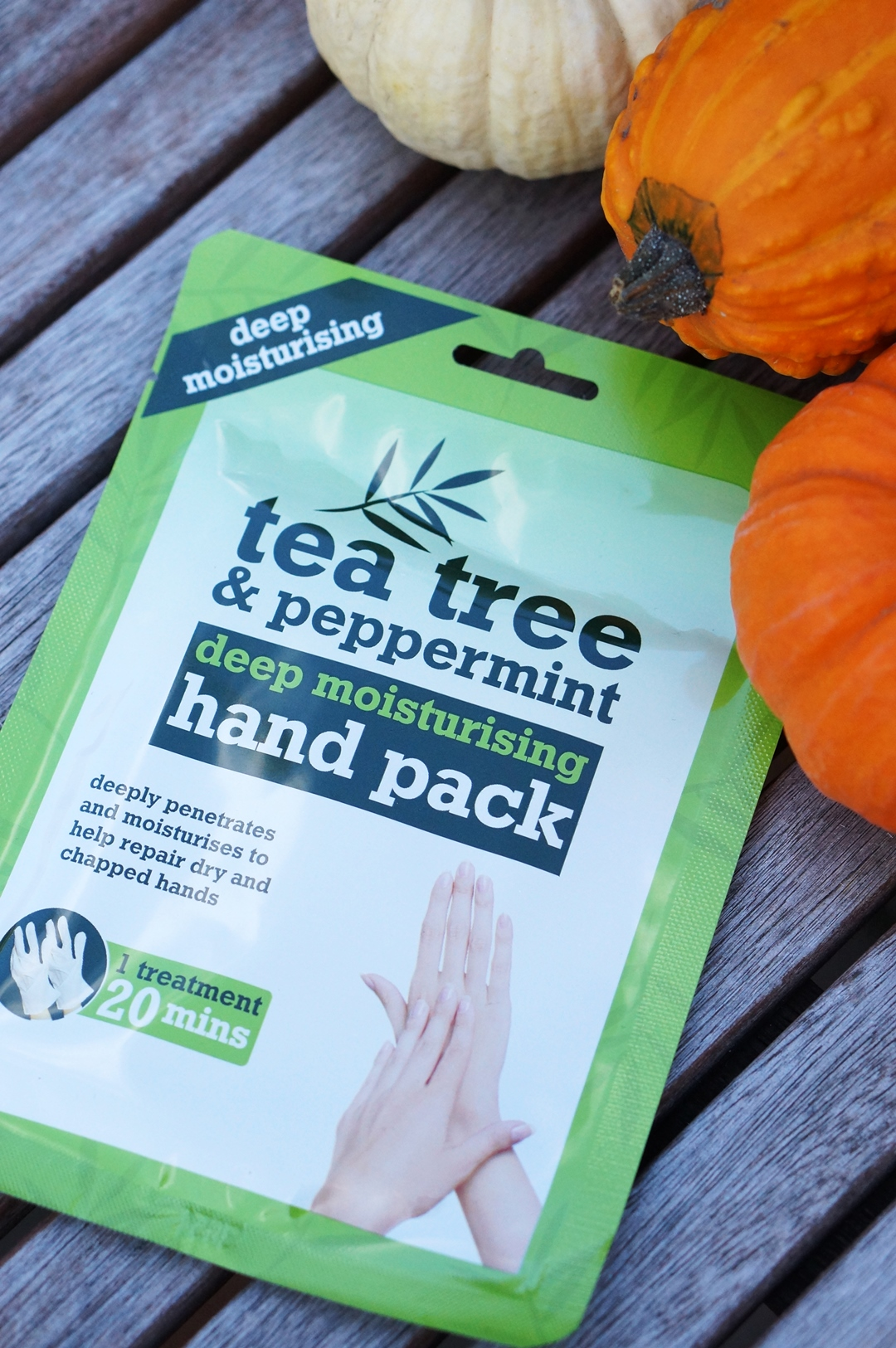Handmasker Argan Oil & Tea Tree - Peppermint