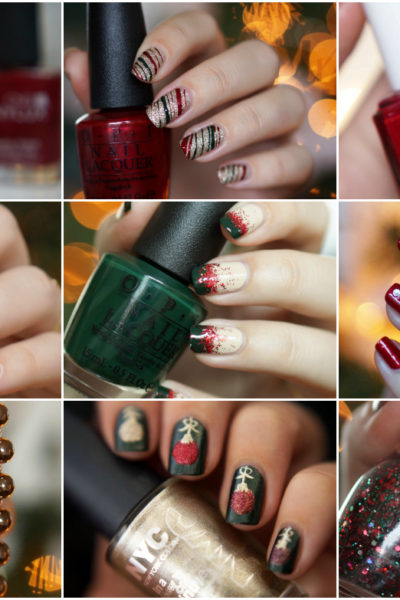 Christmas nailart by Beautyill 9 x