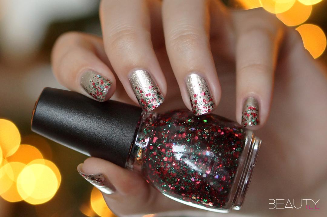 Christmas nailart by Beautyill 9 x