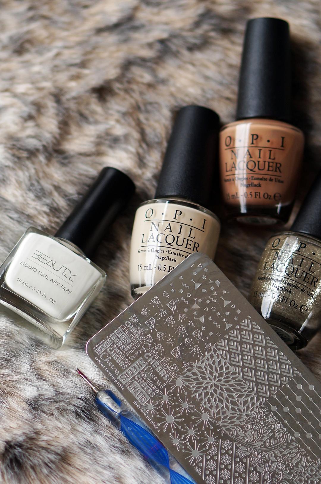 DIY Nail Art Vain-illa San Tan-Tonio Stamp