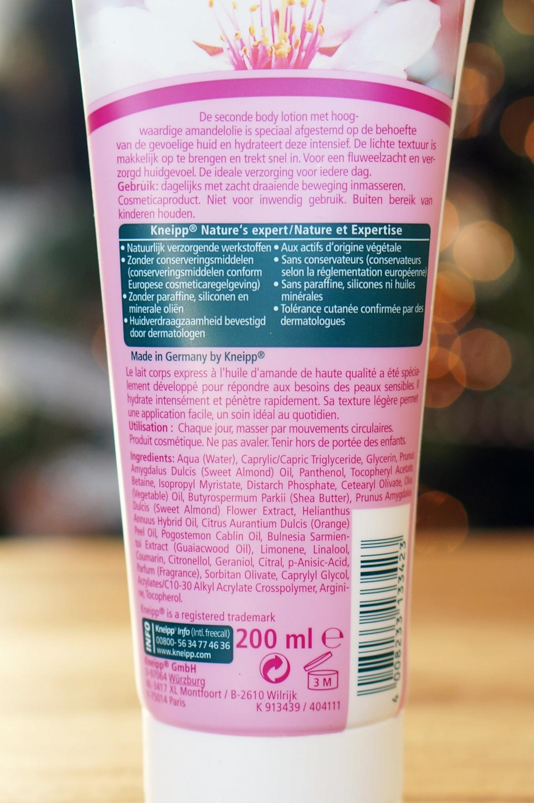 Kneipp Amandelbloesem douche foam & seconde body lotion
