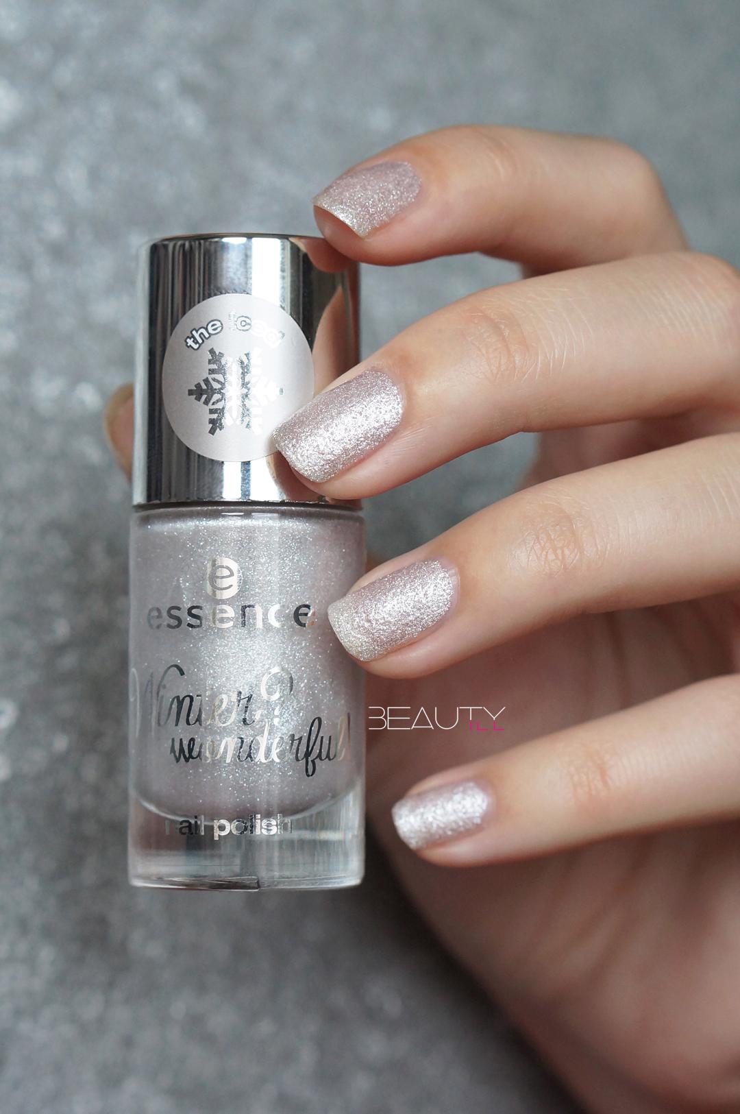Essence Winter? Wonderful! nail polish