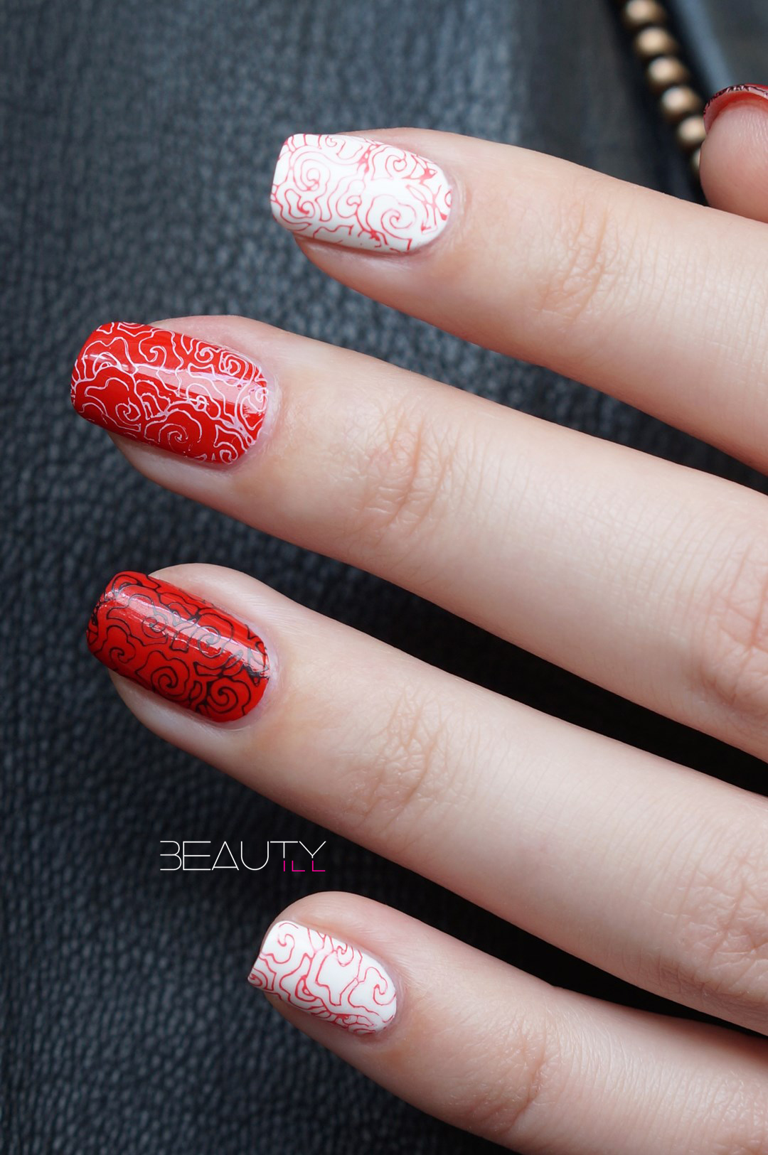 Clear Jelly Stamper Prettypolish + Valentine nail art