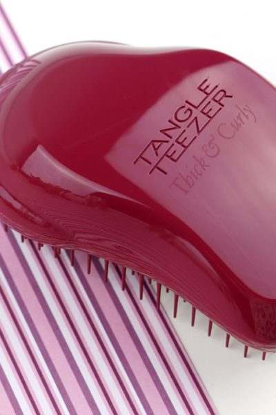 Tange Teezer Thick, Curly hair