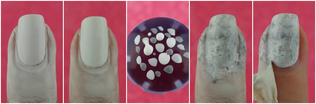 Stone Marble Nail Art (Superrr easy! Smoosh Attack)