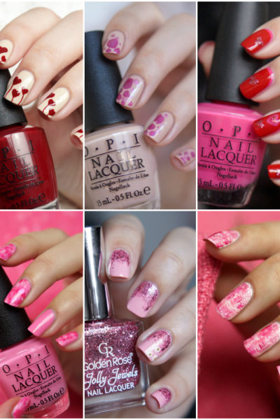 10x Valentines Day Nail Art