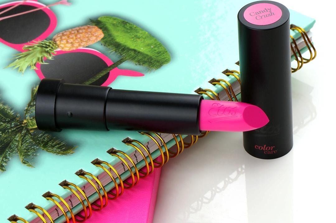 Etos Candy Crush lipstick (MAC Candy Yum Yum dupe)