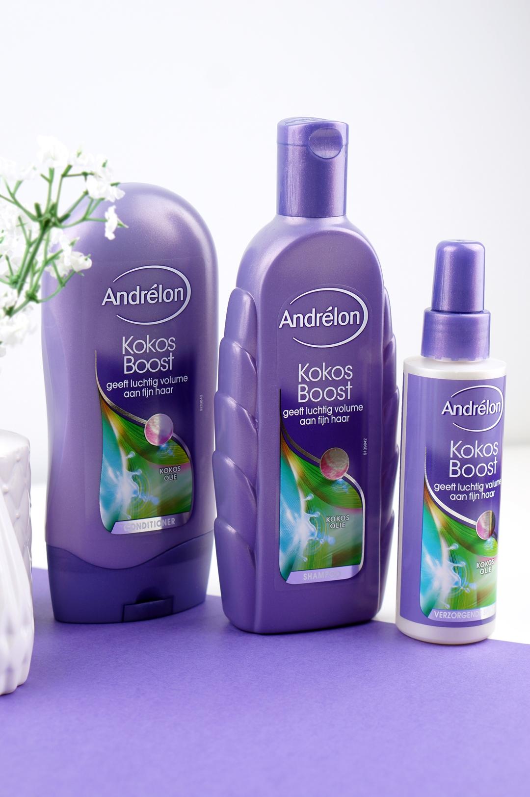 Andrélon Kokos Boost - luchtig volume & intense voeding