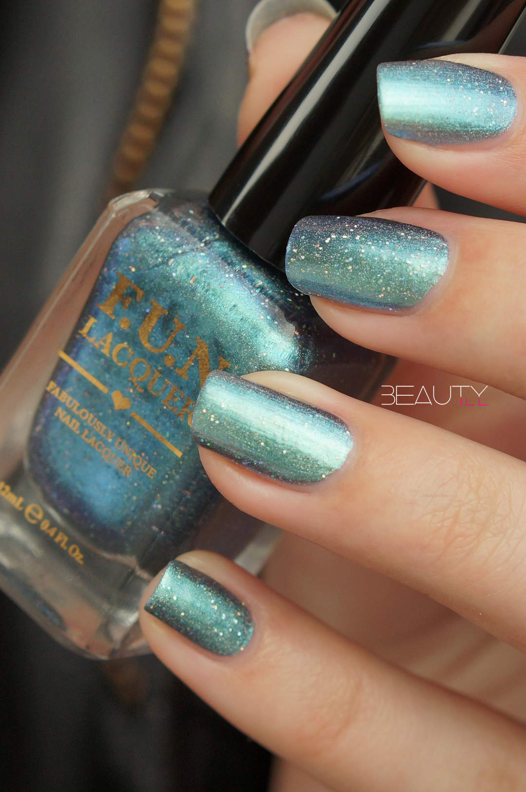F.U.N lacquer Spring 2016 Collection – bachelor's button