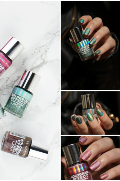 Layla Hologram Effect nagellak swatches
