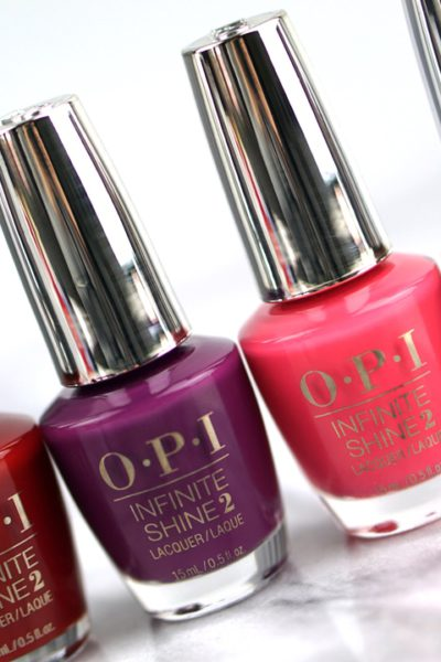 OPI Infinite Shine swatches