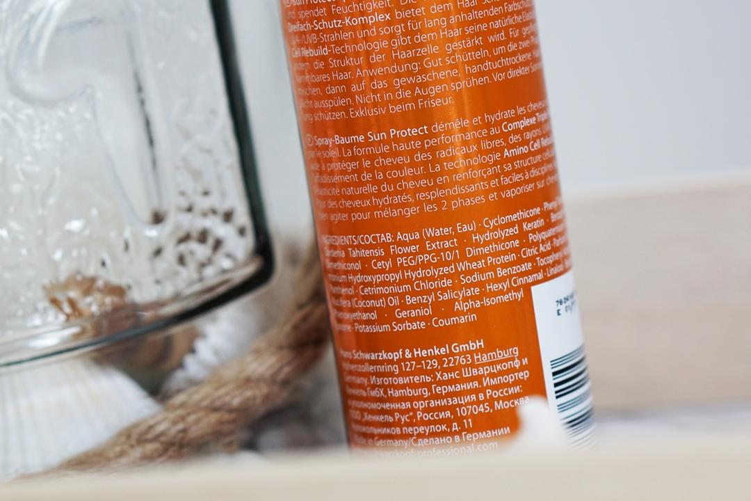 Schwarzkopf Professional BC SUN Protect - Haarverzorging en UV bescherming