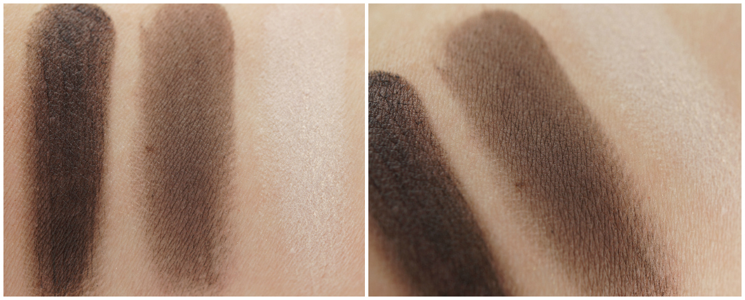 Eylure wenkbrauw palette dark brown