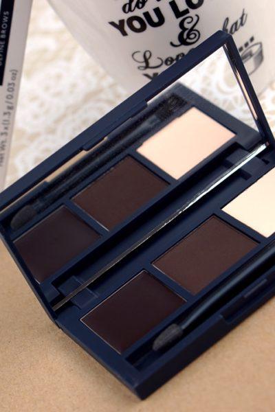 Eylure wenkbrauw palette dark brown