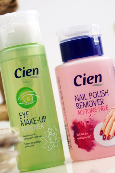 Cien Lidl Eye Make-Up Remover en Nail Polish Remover