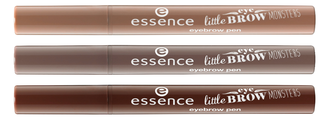 "essence trend edition ""little eyebrow monsters"""
