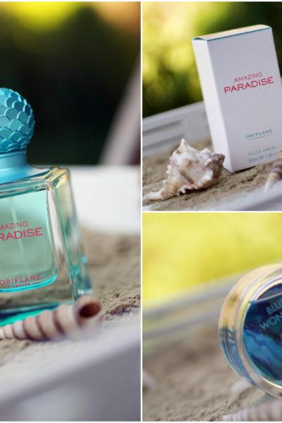 Oriflame 'Amazing Paradise' & 'Blue Wonders'