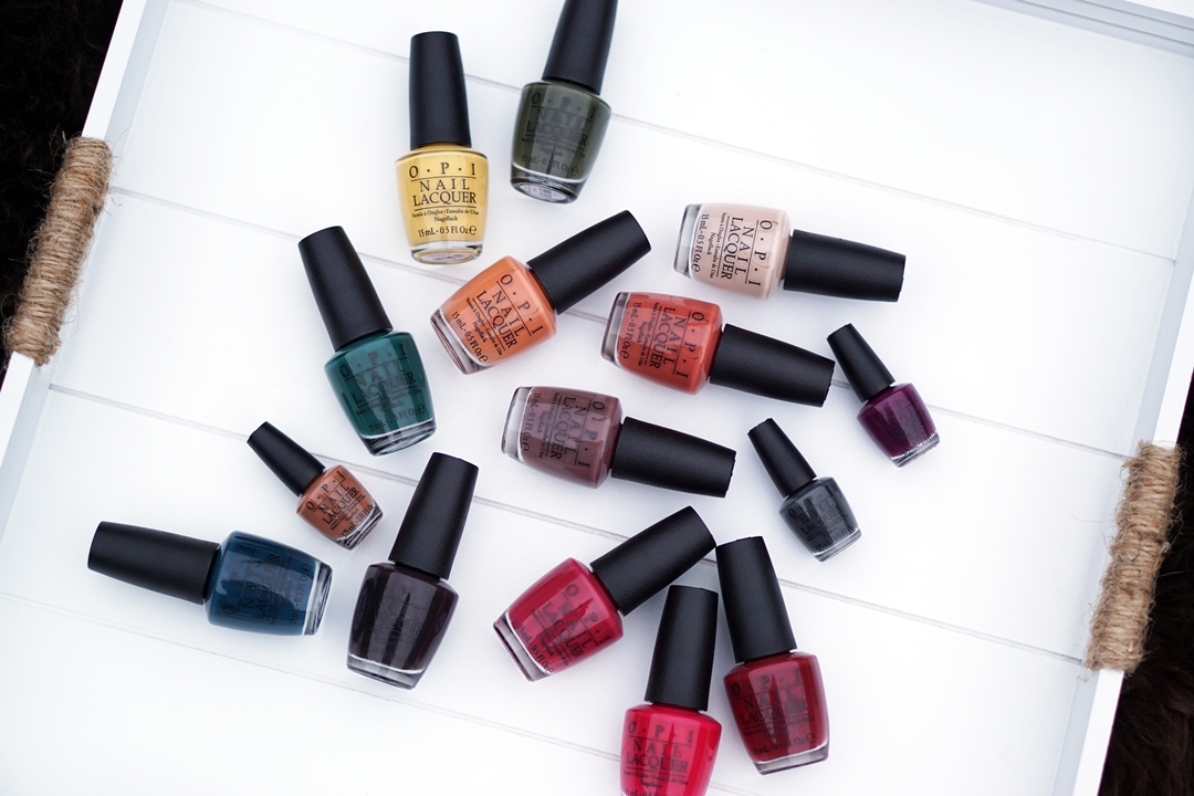 OPI Washington DC 2016 swatches complete collectie