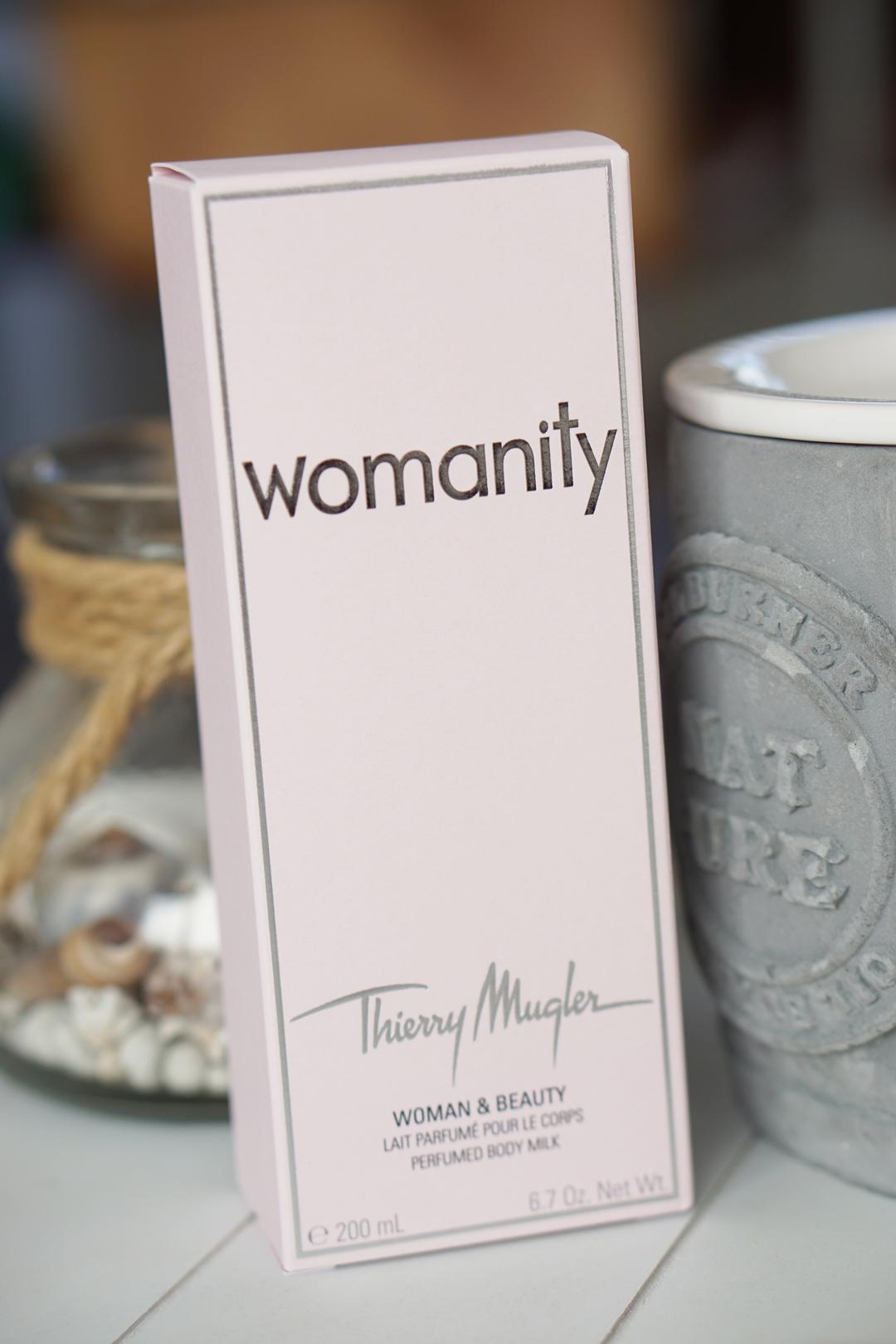 Thierry Mugler Womanity Bodylotion