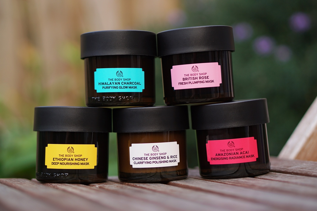 The Body Shop Expert Facial Masks Superfood