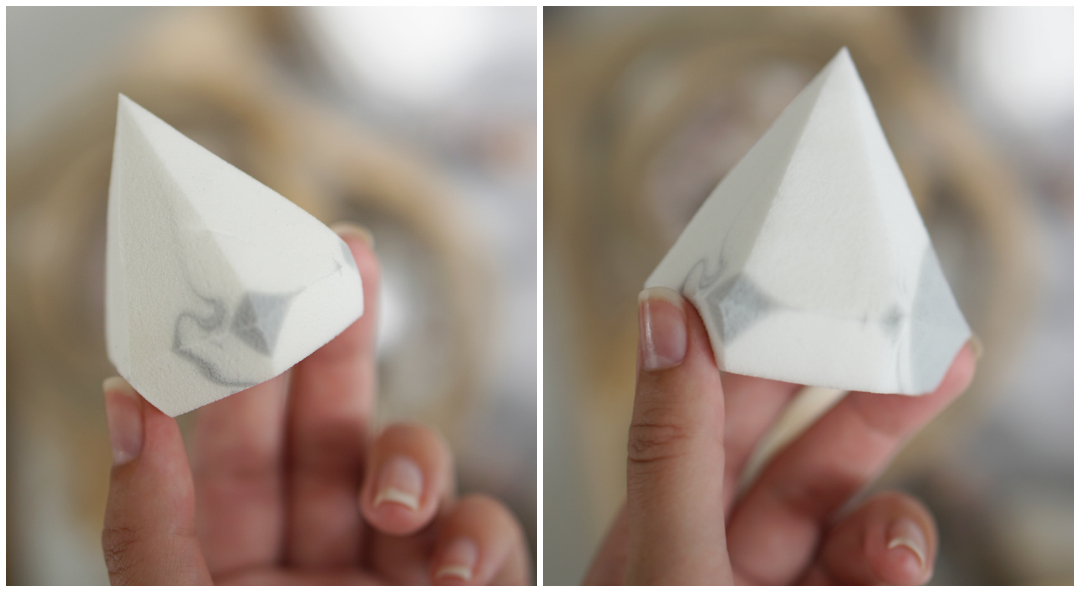Beautyblender of Real Techniques Diamond Sponge?