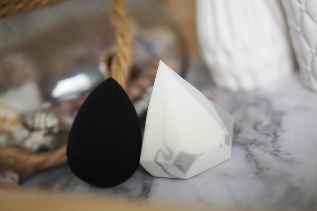Beautyblender of Real Techniques Diamond Sponge?