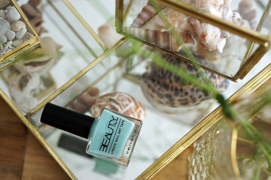 WIN 10x Beautyill Liquid Nail Art Tape Mint