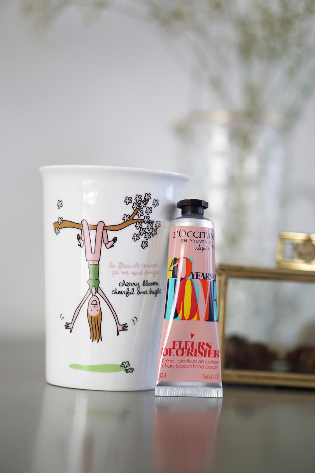 L'Occitane Fleurs de Cerisier, hand cream actie!
