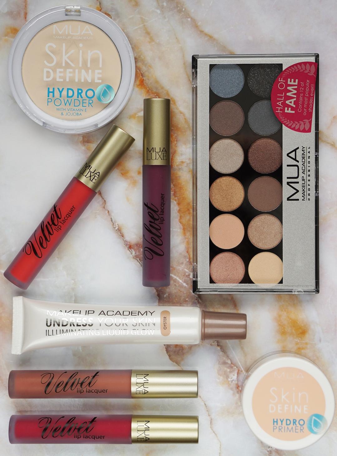 MUA mega make-up pakket review, winactie