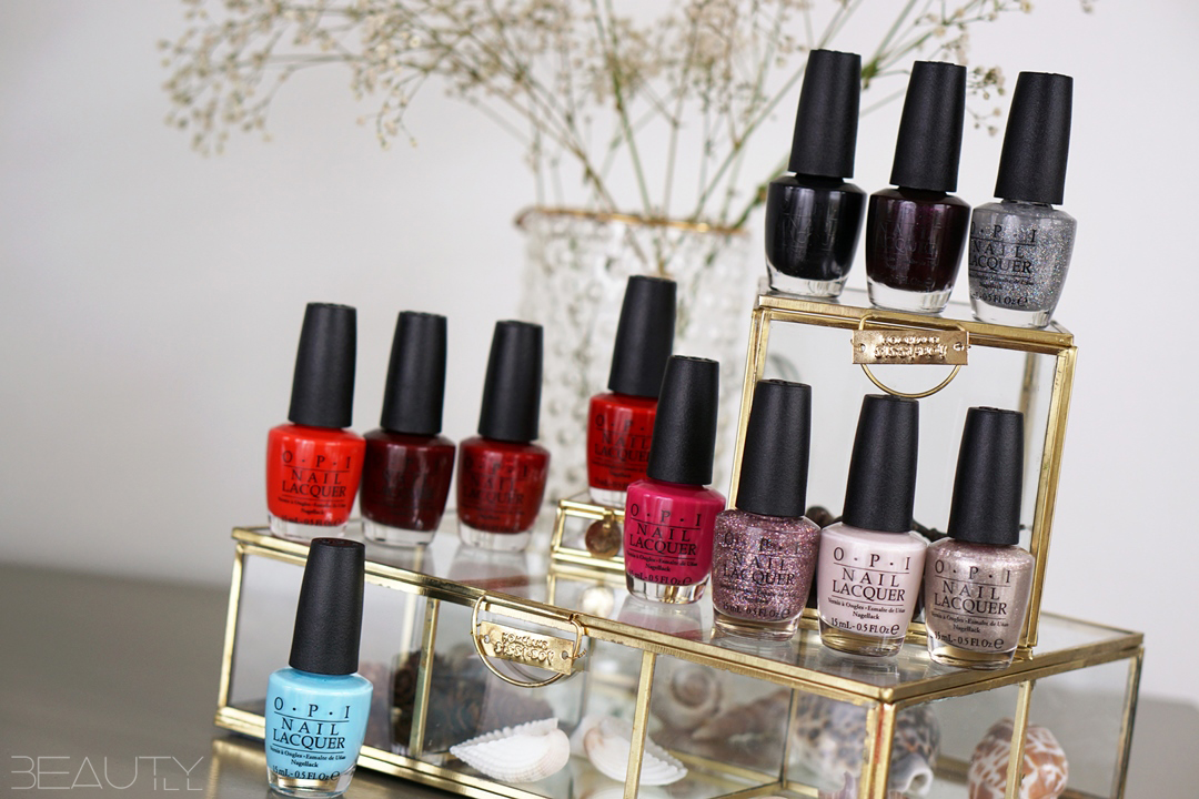 OPI Breakfast at Tiffany's swatches complete collectie