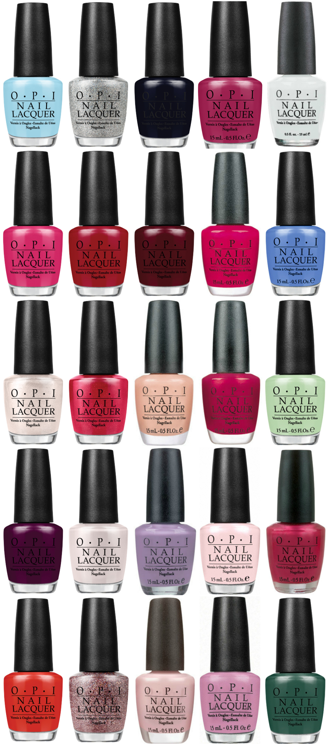 WIN OPI Breakfast at Tiffany's set met 25 lakjes!