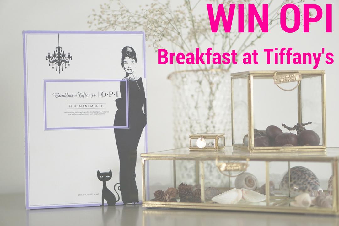 WIN OPI Breakfast at Tiffany's set met 25 kleurtjes!