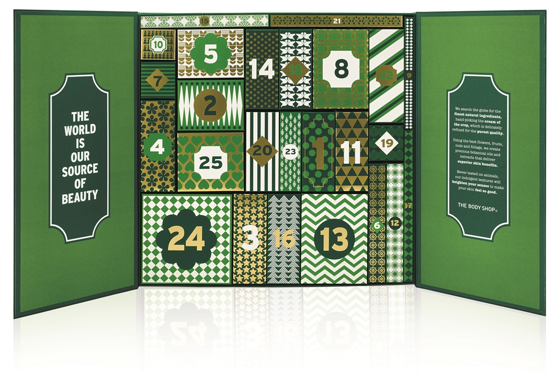 WIN The Body Shop Adventskalender