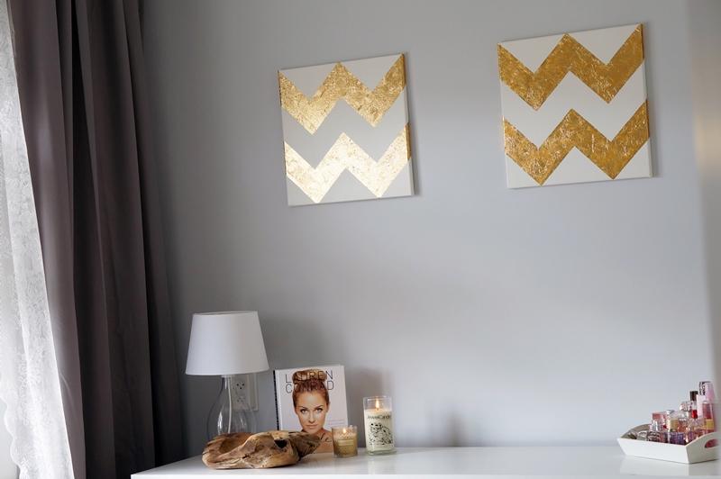 diy-gold-leaf-chevron-painting-26