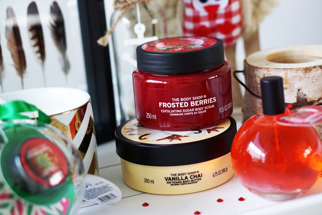 The Body Shop Vanilla Chai Frosted Berries
