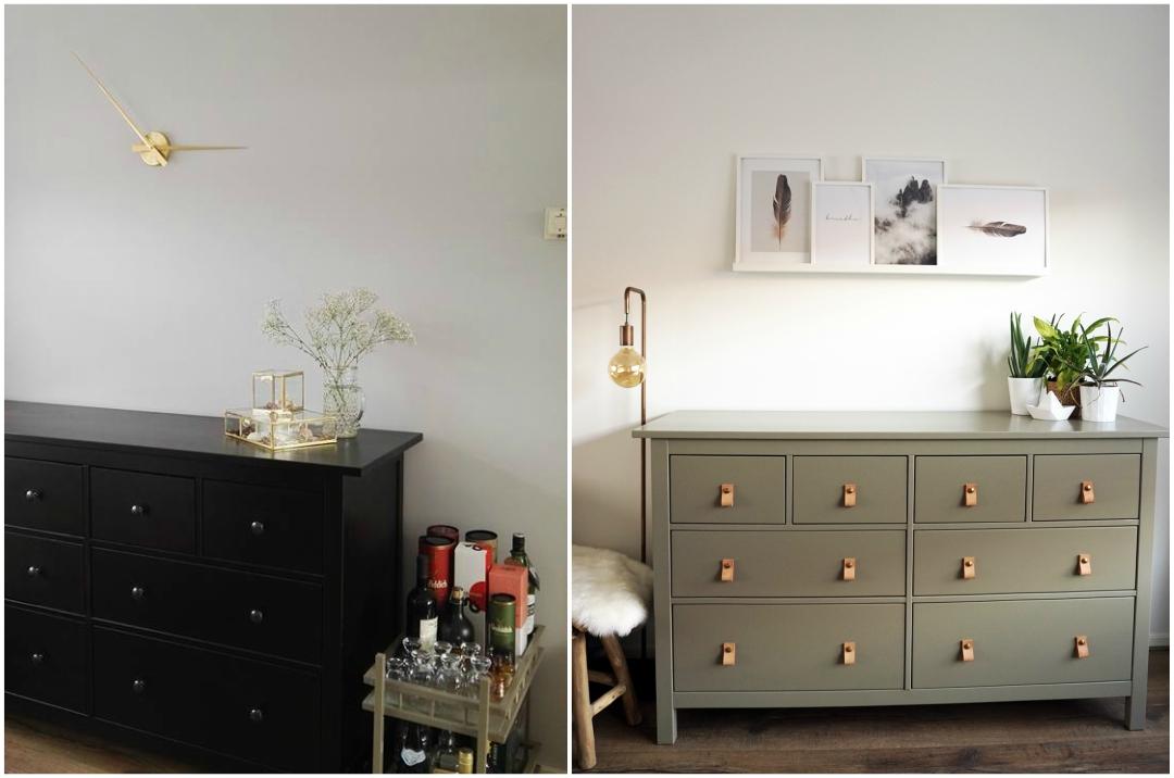 Ladekast Ikea Zwart.Diy Ikea Hemnes Opknappen Desenio Posters Beautyill