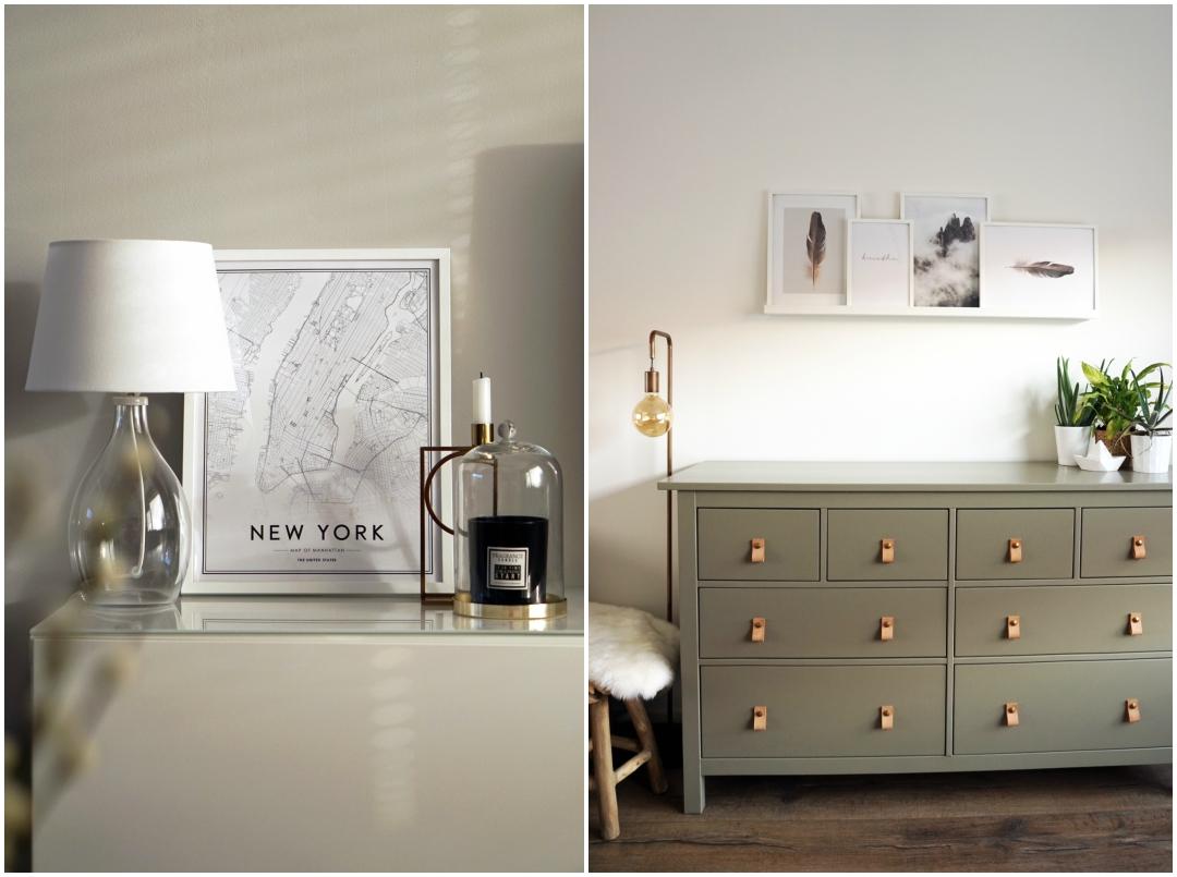 DIY IKEA Hemnes opknappen / Desenio posters