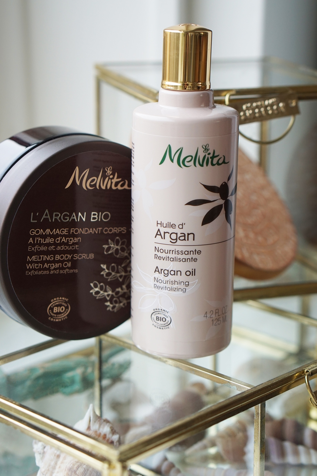Melvita Argan Oil & Melting Body Scrub